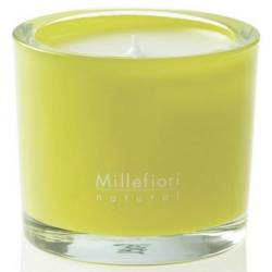 Lemon Grass Millefiori Natural Glas Kerzen 180 g