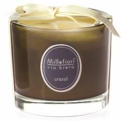 Cristal Millefiori Via Brera Glas Kerzen 180 g