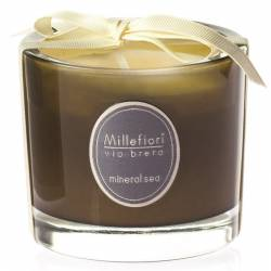 Mineral Sea Millefiori Via Brera Glas Kerzen 180 g