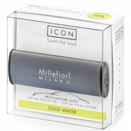 Cold Water – Halter Icon Classic grau - Autoduft Millefiori
