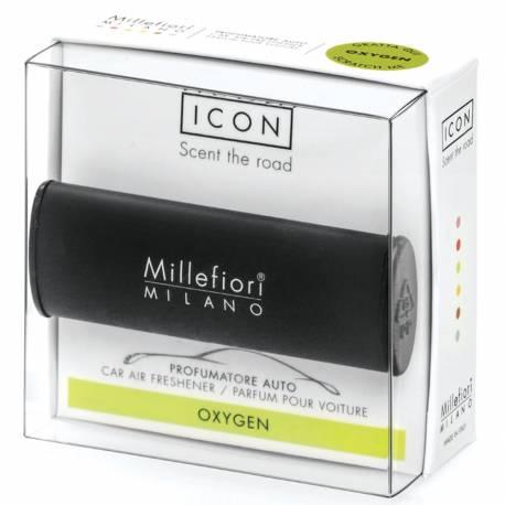 Oxygen – Halter Icon Classic schwarz - Autoduft Millefiori