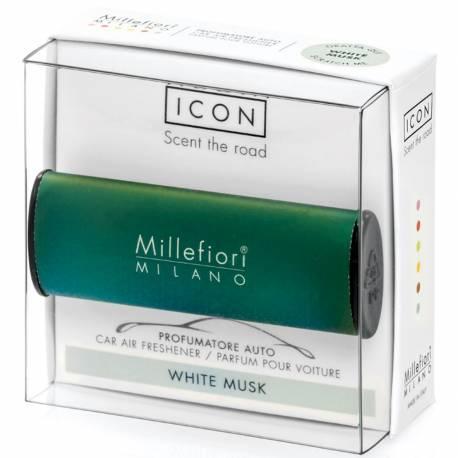 White Musk – Halter Icon Classic grün - Autoduft Millefiori