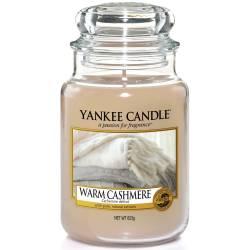 Yankee Candle Jar Glaskerze groß 623g Warm Cashmere
