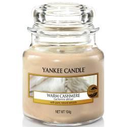 Yankee Candle Jar Glaskerze klein 104g Warm Cashmere