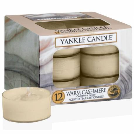 Yankee Candle Teelichter 12er Pack Warm Cashmere