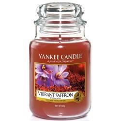 Yankee Candle Jar Glaskerze groß 623g Vibrant Saffron