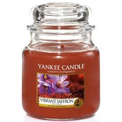 Yankee Candle Jar Glaskerze mittel 411g Vibrant Saffron