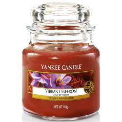 Yankee Candle Jar Glaskerze klein 104g Vibrant Saffron