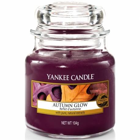 Yankee Candle Jar Glaskerze klein 104g Autumn Glow