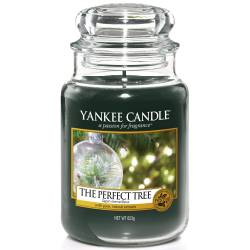 Yankee Candle Jar Glaskerze groß 623g The Perfect Tree