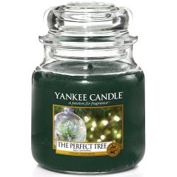 Yankee Candle Jar Glaskerze mittel 411g The Perfect Tree