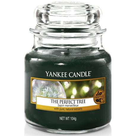 Yankee Candle Jar Glaskerze klein 104g The Perfect Tree