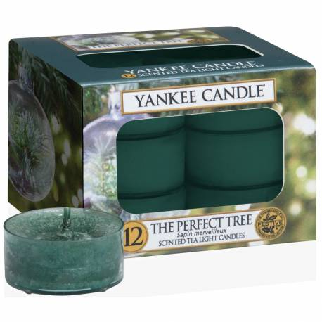 Yankee Candle Teelichter 12er Pack The Perfect Tree