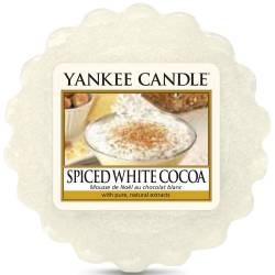 Yankee Candle Tart / Melt Spiced White Cocoa