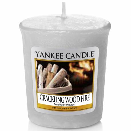 Yankee Candle Sampler Votivkerze Crackling Wood Fire