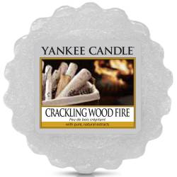 Yankee Candle Tart / Melt Crackling Wood Fire