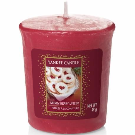 Yankee Candle Sampler Votivkerze Merry Berry Linzer