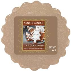 Yankee Candle Tart / Melt Iced Gingerbread