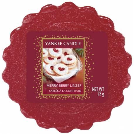 Yankee Candle Tart / Melt Merry Berry Linzer