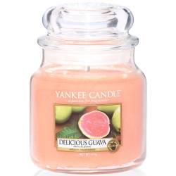 Yankee Candle Jar Glaskerze mittel 411g Delicious Guava
