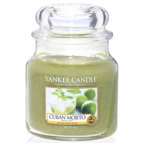 Yankee Candle Jar Glaskerze mittel 411g Cuban Mojito