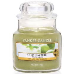 Yankee Candle Jar Glaskerze klein 104g Cuban Mojito