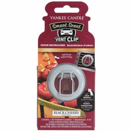 Yankee Candle Smart Scent Vent Clip Autoduft Black Cherry