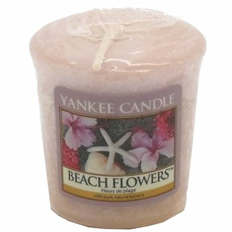 2. Wahl - Yankee Candle Sampler Votivkerze Beach Flowers