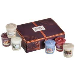 2. Wahl – Yankee Candle Geschenk-Set Fall in Love Sampler / Votive 6er