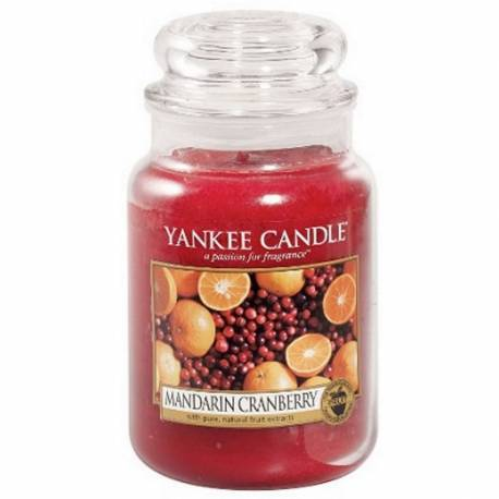 Yankee Candle Jar Glaskerze groß 623g Mandarin Cranberry