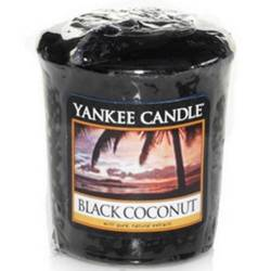 Yankee Candle Sampler Votivkerze Black Coconut