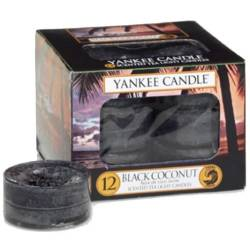 Yankee Candle Teelichter 12er Pack Black Coconut 2. Wahl