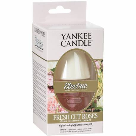 Yankee Candle Elektrischer Duftstecker EU Fresh Cut Roses