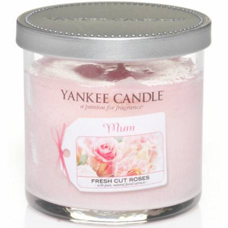Yankee Candle Tumbler 104g Celebrations Mum Fresh Cut Roses
