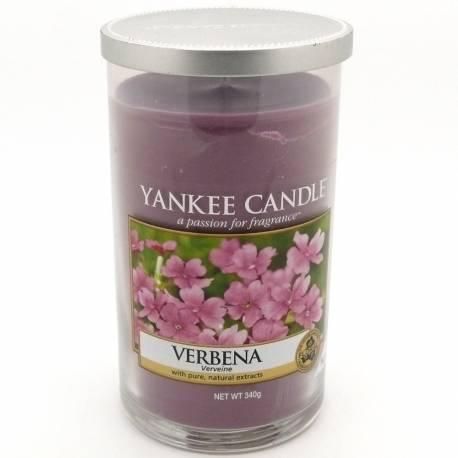 Yankee Candle Pillar Glaskerze mittel 340g Verbena *