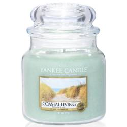 Yankee Candle Jar Glaskerze mittel 411g Coastal Living