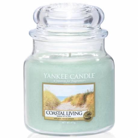 Yankee Candle Jar Glaskerze mittel 411g Coastal Living