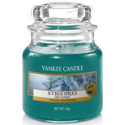 Yankee Candle Jar Glaskerze klein 104g Icy Blue Spruce