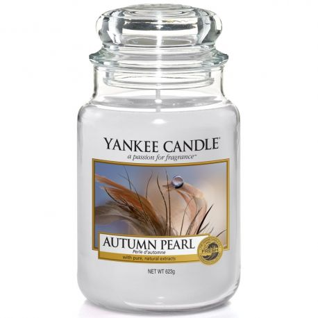Yankee Candle Jar Glaskerze groß 623g Autumn Pearl