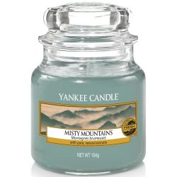 Yankee Candle Jar Glaskerze klein 104g Misty Mountains