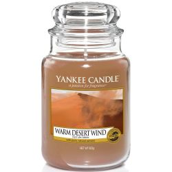 Yankee Candle Jar Glaskerze groß 623g Warm Desert Wind