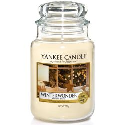 Yankee Candle Jar Glaskerze groß 623g Winter Wonder