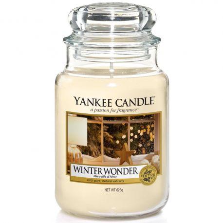 Yankee Candle Jar Glaskerze groß 623g Winter Wonder