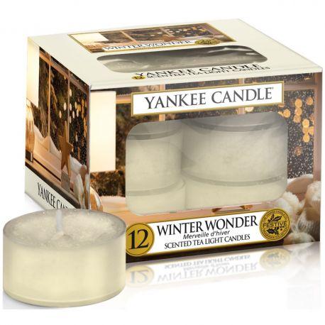 Yankee Candle Teelichter 12er Pack Winter Wonder