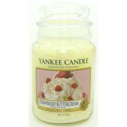 2. Wahl - Yankee Candle Jar Glaskerze groß 623g Strawberry Buttercream *