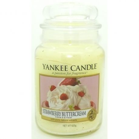2. Wahl - Yankee Candle Jar Glaskerze groß 623g Strawberry Buttercream *