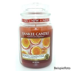 Yankee Candle Jar Glaskerze groß 623g Honey Clementine *
