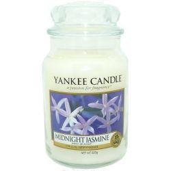2. Wahl - Yankee Candle Jar Glaskerze groß 623g Midnight Jasmine