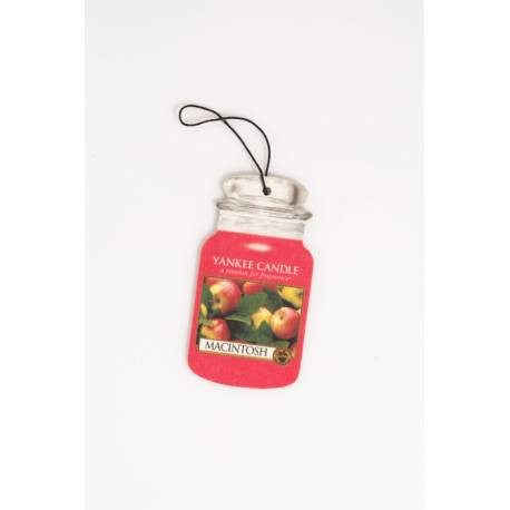 Yankee Candle Car Jar MACINTOSH