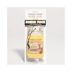 Yankee Candle Car Jar 3er Bonuspack Vanilla Cupcake